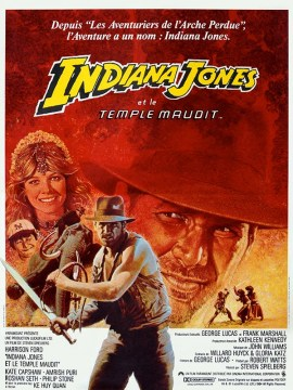 Indiana Jones et le temple maudit-60x80