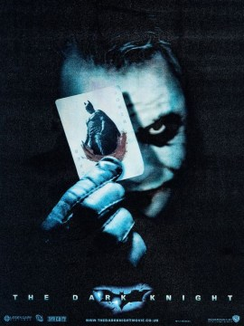 dark knight (the) lenticulair jocker-60x80