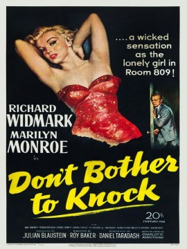 Dont bother to knock (usa)-60x90