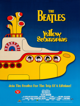 Yellow submarine-60x90