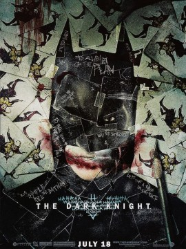 dark knight (visage batman)-60x80